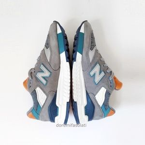 NEW BALANCE 998 USA grey athletic shoes sneakers